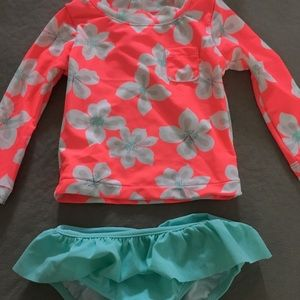 Toddler girl bathing suit